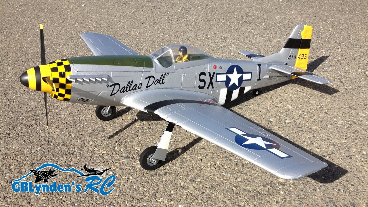 Maiden Flight E Flite P 51 Mustang Bnf Basic Wwii