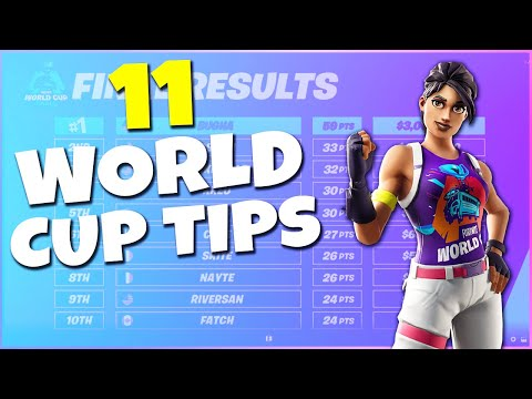 11 BEST Tips From The Fortnite World Cup