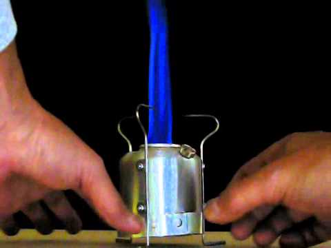 Adjustable  Pressurized Alcohol Stove
