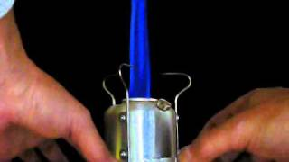 Adjustable  Pressurized Alcohol Stove thumbnail