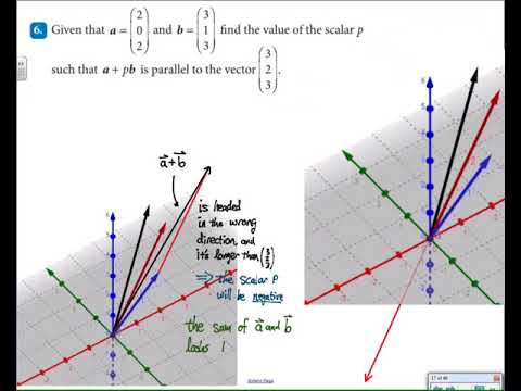 IB HL Math 3D vectors Cambridge text part 2