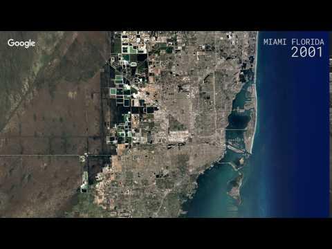 Google Timelapse: Miami, Florida