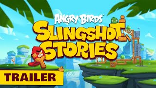 New series! Angry Birds Slingshot Stories | Release Trailer