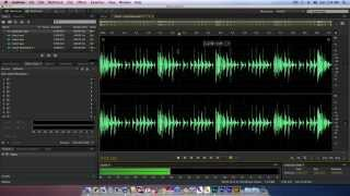 Audition CC Mono to Stereo Convert