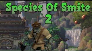 Species Of SMITE 2