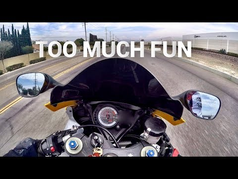 WHAT IT'S LIKE TO RIDE A SPORT BIKE (FIRST TIME)