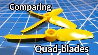 How many blades?  Comparing 2 and 4 bladed props