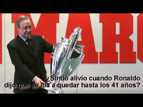 Real Madrid: Florentino Perez interview after the Champions League