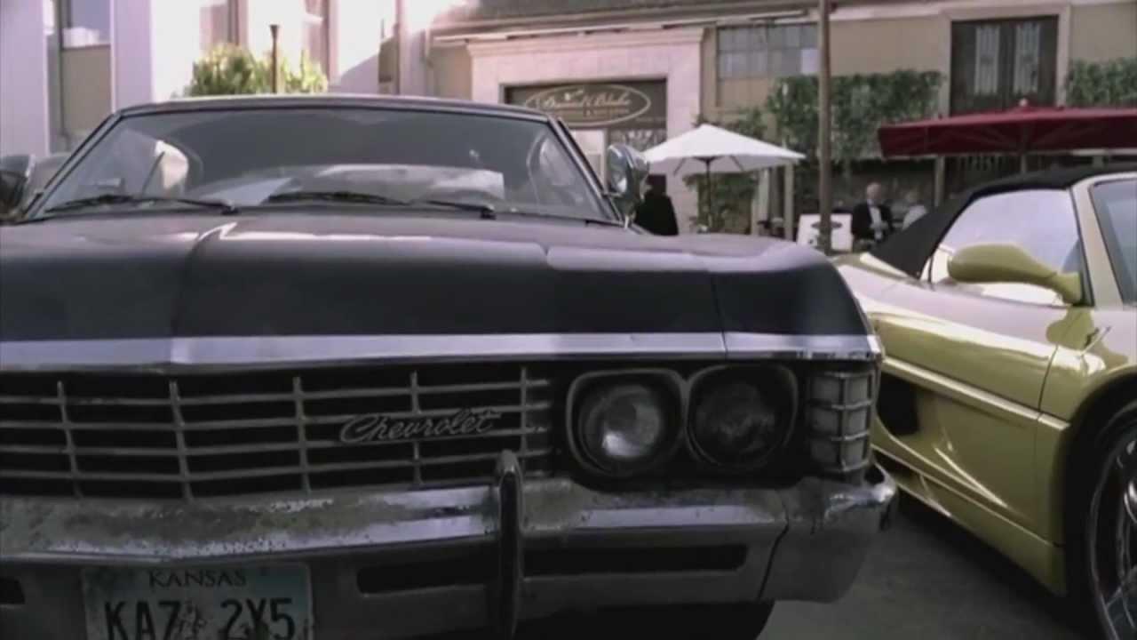 Supernatural Chevy Impala Tribute P YouTube - Supernatural show car