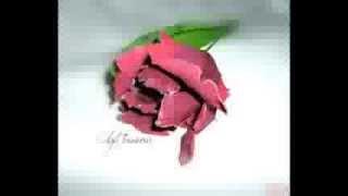 """Трейлер МК.тюльпан """"Black Parrot""""(попугайный,лиловый.фоамиран,)"""