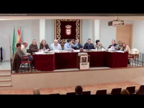 El Hoyo de Pinares. Pleno ordinario Ayto. 24 Marzo 2015