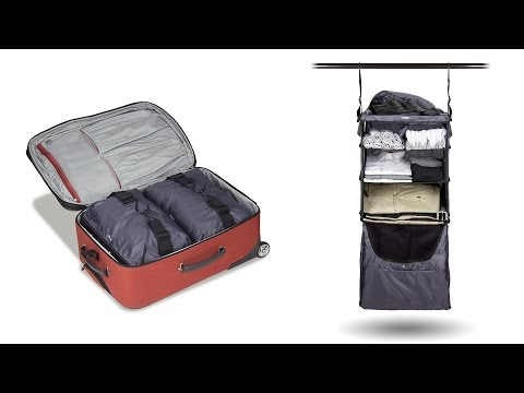 Riser Collapsible Shelves Luggage Insert- GREY