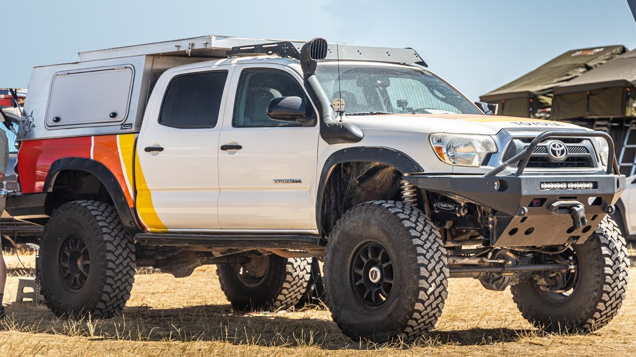 TacomaBeast Names Skinny Guy's TacoBuild One of the Top 5 Tacomas At Overland Expo MTN West 2021