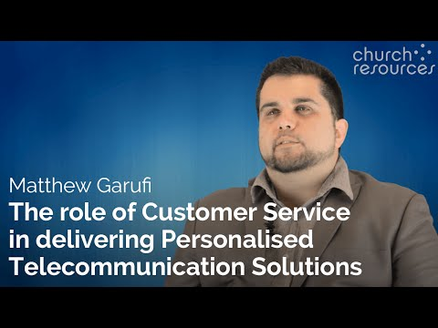 The role of Customer Service in delivering Personalised Telecommunication Solutions