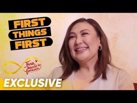 First Things First with Sharon Cuneta | 'Three Words To Forever'