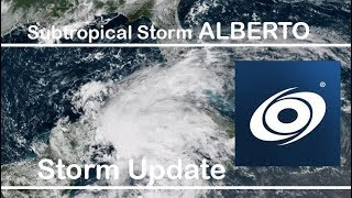 [Florida] Subtropical Storm Alberto Update - 8pm EDT, May 26 2018