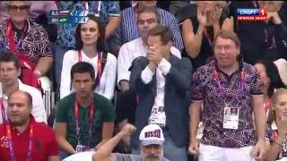 Лондон 2012 Олимпиада финал волейбол Россия-Бразилия