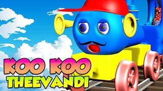 Koo Koo Theevandi കൂ കൂ തീവണ്ടി - Malayalam Nursery Rhymes in 3D