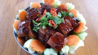 Taiwanese Dong Po Pork 台式東坡肉 Double Cooked Pork Belly