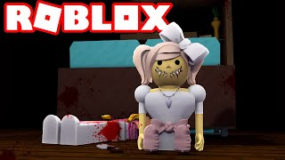 The EERIE doll! -Roblox Horror Story with ComKean