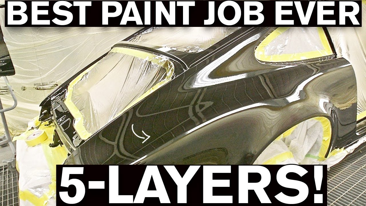 Most Insane Paint Job EVER! Step-by-Step Process