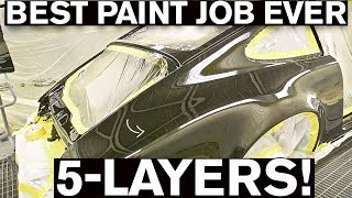 Most Insane Paint Job EVER! Step-by-Step Process on the AMMO Porsche 964