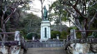 板垣死すとも自由は死せず、と言った板垣退助の銅像は高知城 高知の面白...