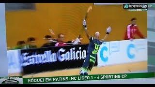 HC Liceo Coruña 1 - 4 Sporting CP de 1-0 a 1-4!