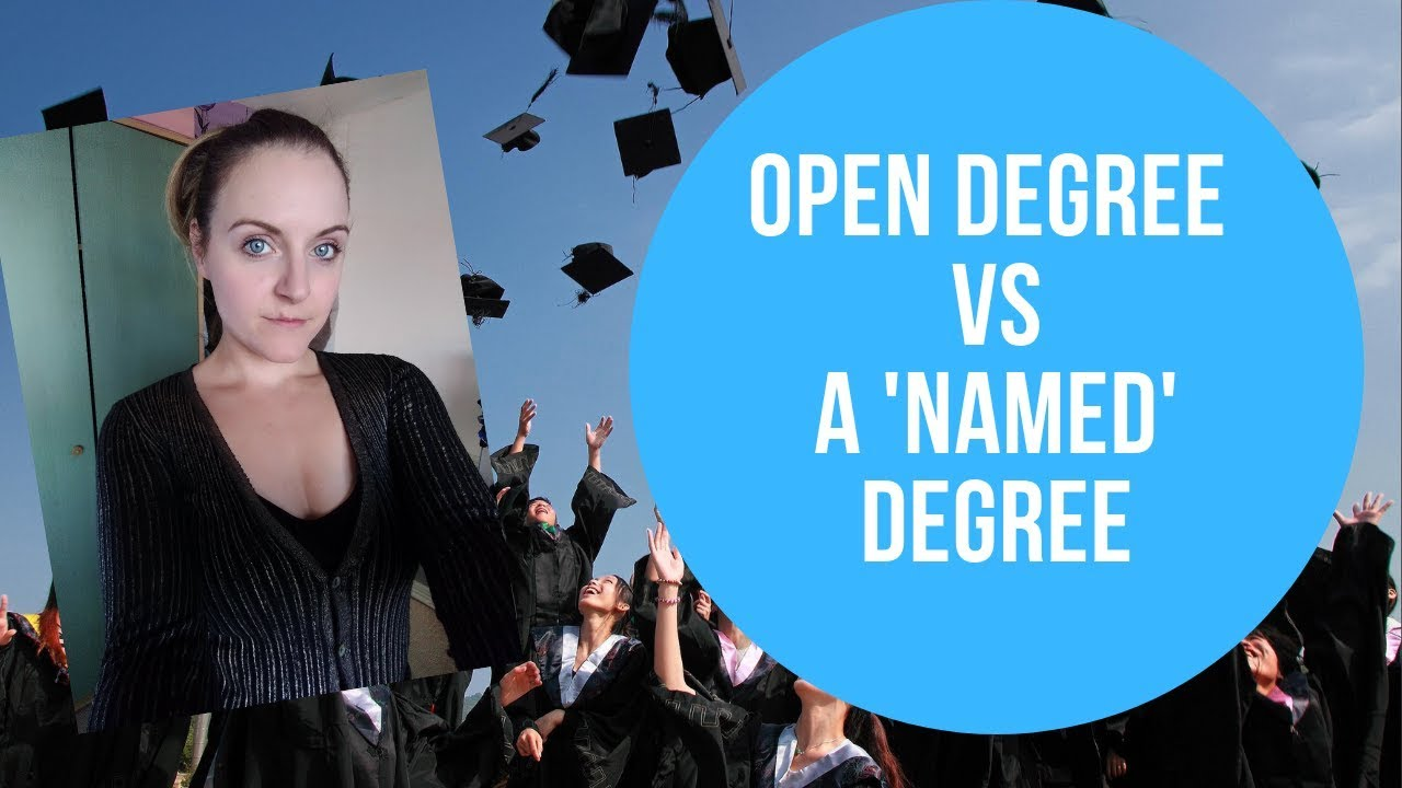 The Open University Open Degree Vs Regular Degree Uk Distance Learning Experience Youtube