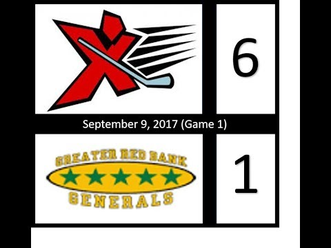 AX03 vs Red Bank Generals (Game 1). 9-9-17