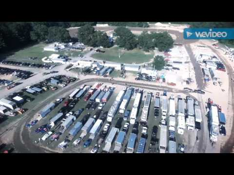 Birds eye view of Albany Saratoga Speedway