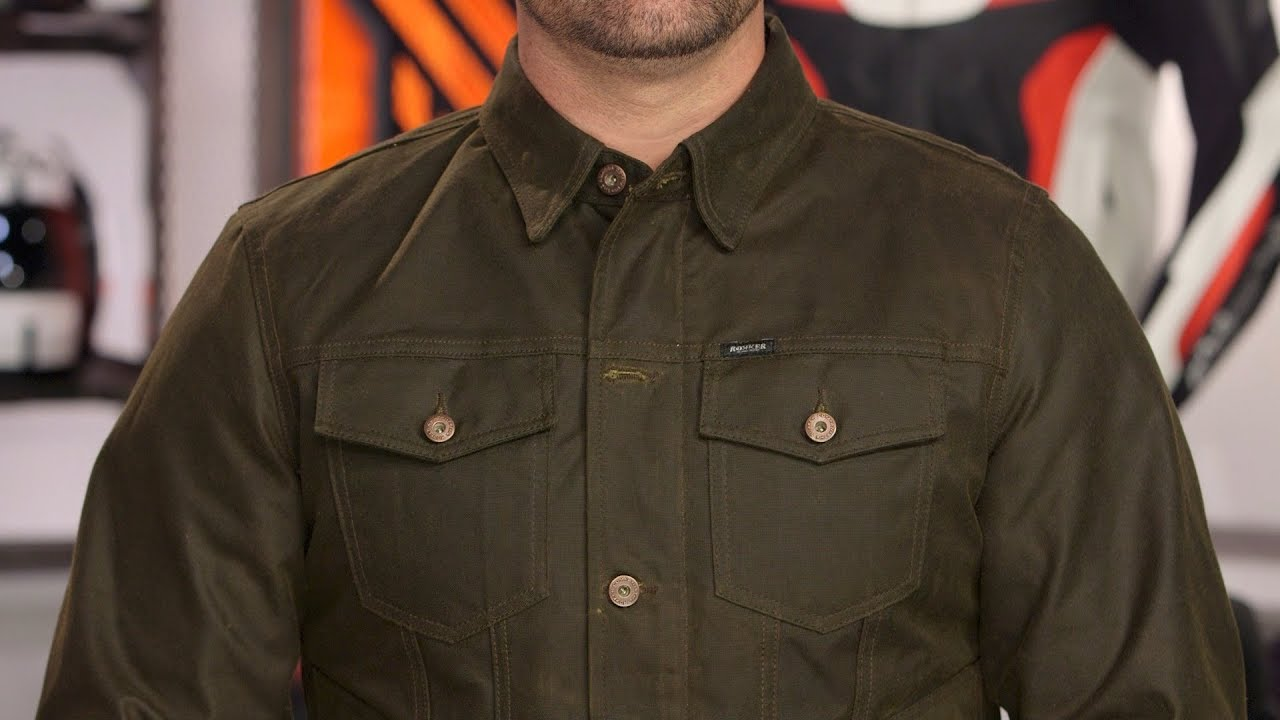 Rokker Waxed Cotton Jacket Review At Revzilla Com Youtube