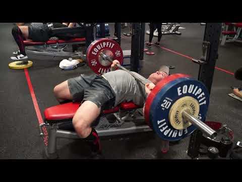 Powerlifting workout (Deadlift & Bench)