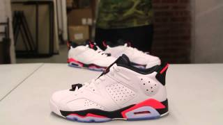 "Air Jordan 6 Retro Low ""Infrared 23"" Unboxing Video at Exclucity"