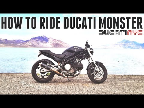 How To Shift And Ride A Ducati Monster Motorcycle Youtube
