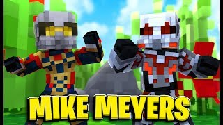 Ant-Man VS The Wasp Hide-and-Seek *Mike Meyers* - Minecraft Modded Minigame | JeromeASF