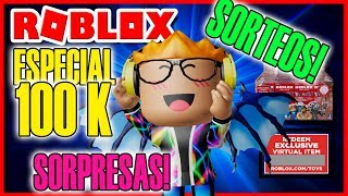 🔴DIRECT ROBLOX! SPECIAL 100,000 SUBS! 🌟 SORES! Surprises!