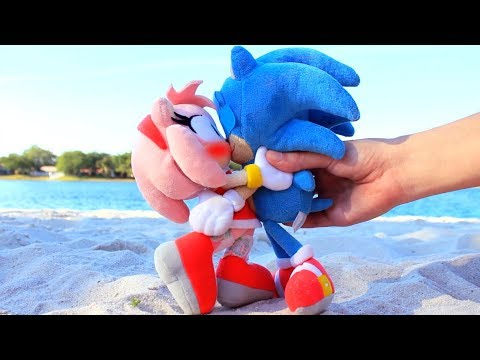 Sonic Plush: SonAmy 3