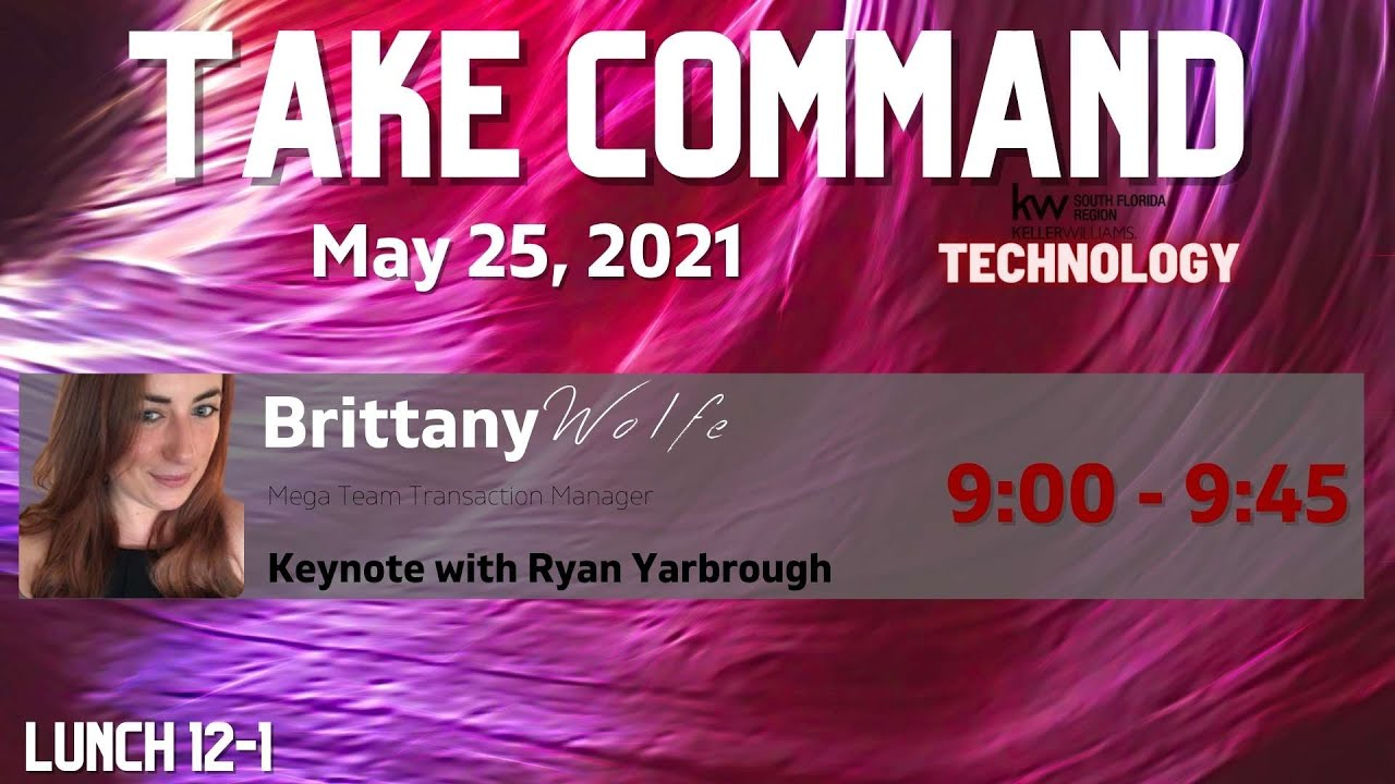 May: Take Command - Keynote