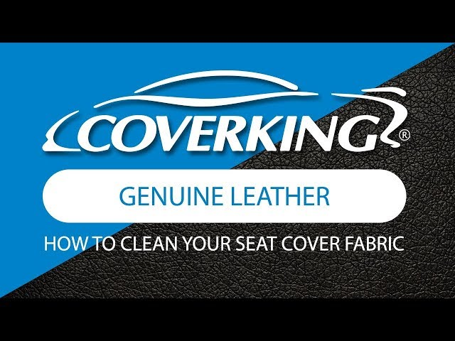 Coverking Genuine Leather Custom Fit Seat Covers