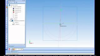 Построение 3D модели кольцевой пружины в Компас 3D