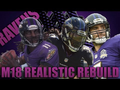 The Greatest Play in Nfl History! Realistic Rebuilding of The Baltimore Ravens | Madden 18 Franchise