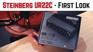 Steinberg UR22C Audio Interface - First Look