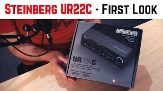 Steinberg UR22C Audio Interface - First Look