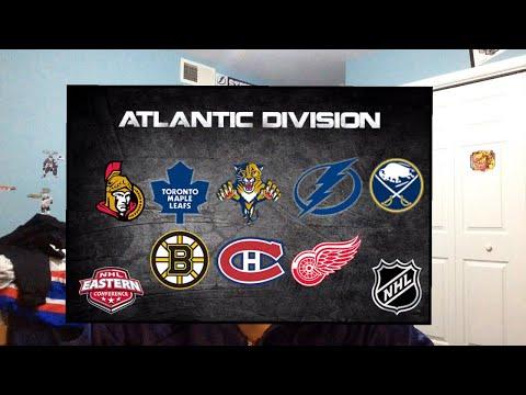 2017-2018 NHL ATLANTIC DIVISION PREDICTIONS!!!!