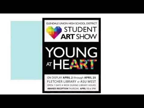 Young At Heart Annual Student Art Show 2018 Youtube