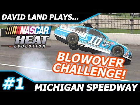 BLOWOVER AT EVERY TRACK #1- DANICA PATRICK @ MICHIGAN (NASCAR Heat Evolution)