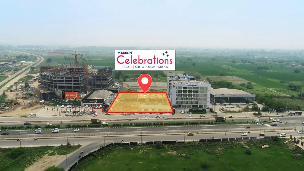 Drone Shoot - Maxxon Commercial, Chandigarh