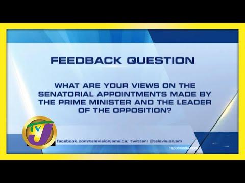 TVJ News: Feedback Question - September 15 2020
