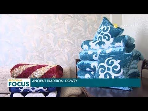 Из чего состоит приданое казахской невесты?
